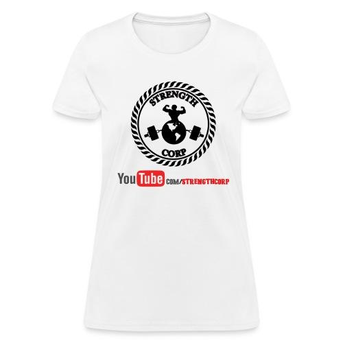 Women's Official Strength Corp T-Shirt (Light Colors) - Women's T-Shirt