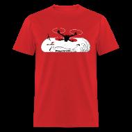 T-Shirts ~ Men's T-Shirt ~ ImmersionRC Blast Red