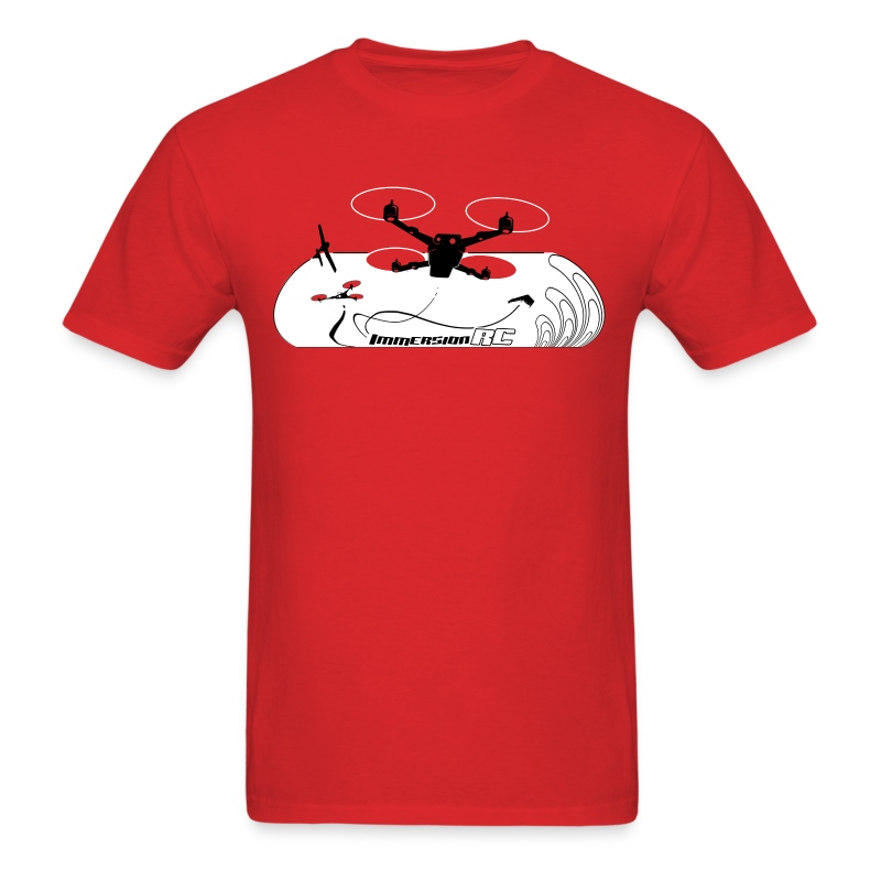 ImmersionRC Blast Red - Men's T-Shirt