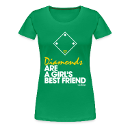 Women's T-Shirts ~ Women's Premium T-Shirt ~ Diamonds - Women's Tee