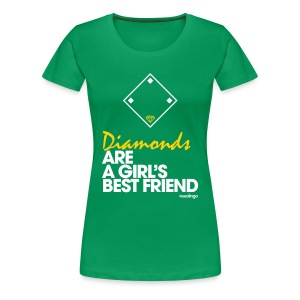 Diamonds - Women's Tee - Women's Premium T-Shirt
