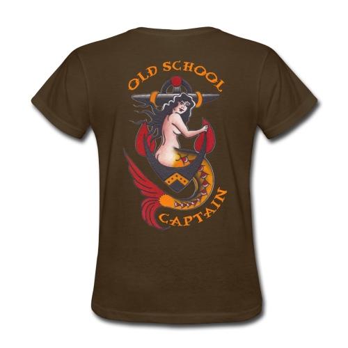Old School Captain - Ladies' Tee - Women's T-Shirt