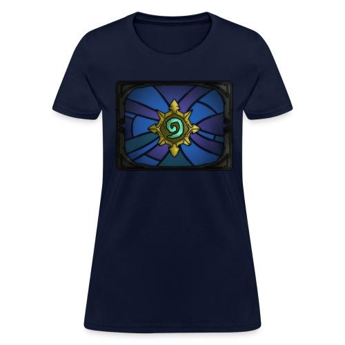 Blue Hearthstone Womens' Shirt - Women's T-Shirt