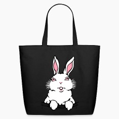Easter Bags Easter Bunny Tote Bags Bunny Rabbit Ba