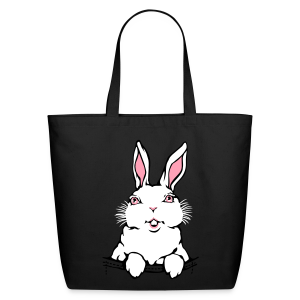 Easter Bags Easter Bunny Tote Bags Bunny Rabbit Ba - Eco-Friendly Cotton Tote