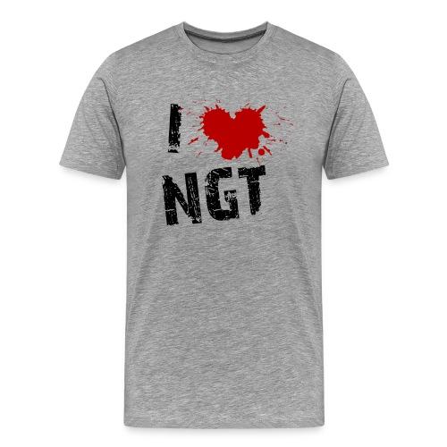I Love NGT - Men's Premium T-Shirt