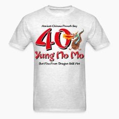 Yung No More 40th Birthday T-Shirt