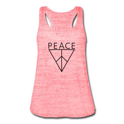 Vicid Peace Triangle Tank-Top - Women's Flowy Tank Top by Bella
