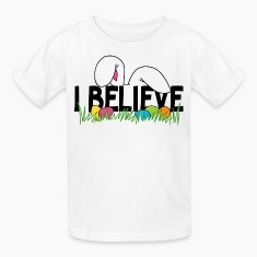 Believe In The Easter Bunny T-Shirt