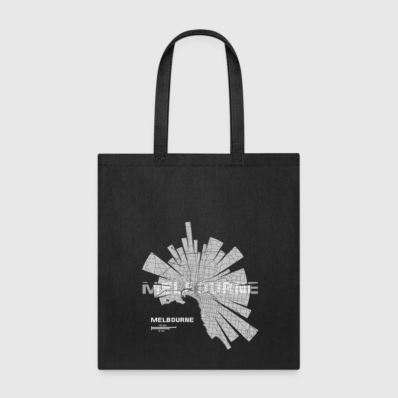 Melbourne Map Bags & backpacks - Tote Bag