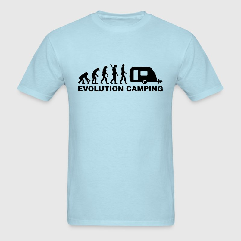 Evolution Camping T-Shirts - Men's T-Shirt
