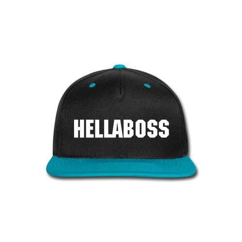 HELLABOSS - Snap-back Baseball Cap
