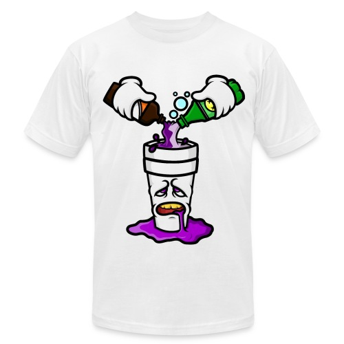 Pour Up Lean - Men's Fine Jersey T-Shirt