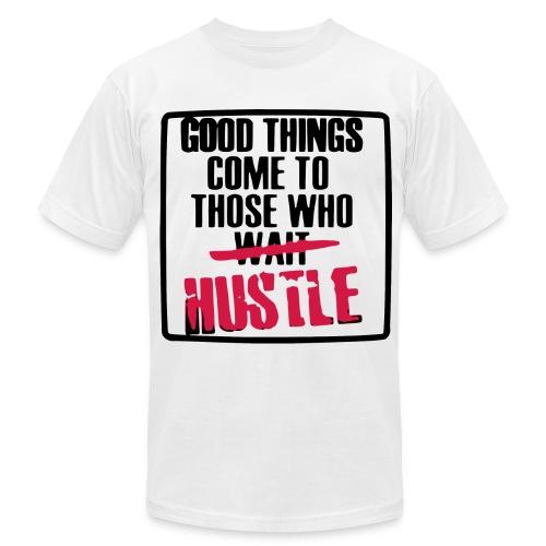Hustle - Men's Fine Jersey T-Shirt