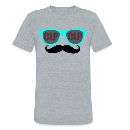 Glass and Stache - Unisex Tri-Blend T-Shirt