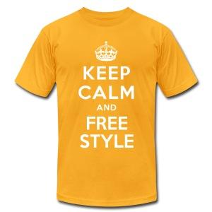 KEEP CALM... - Men's Fine Jersey T-Shirt