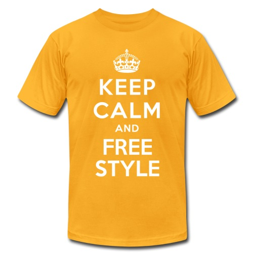 KEEP CALM... - Men's T-Shirt by American Apparel
