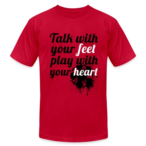 Heart| NEW! - Men's Fine Jersey T-Shirt