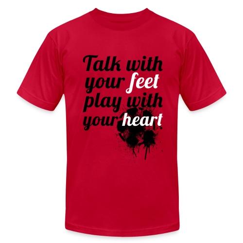 Heart| NEW! - Men's Fine Jersey T-Shirt