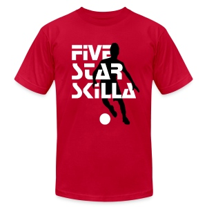 Five Star Skilla - Men's T-Shirt by American Apparel