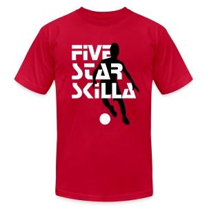 Five Star Skilla - Men's Fine Jersey T-Shirt