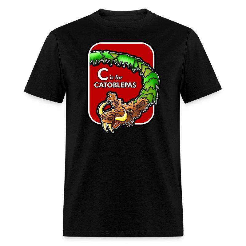 C is for Catoblebas - Men's T-Shirt