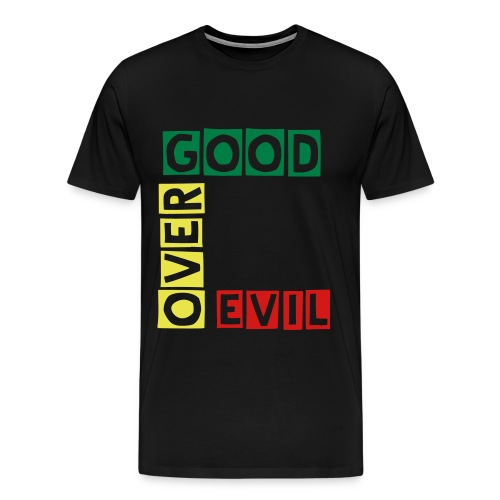 Good Over Evil - Men's Premium T-Shirt