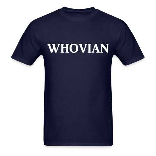 Whovian Man's - Men's T-Shirt