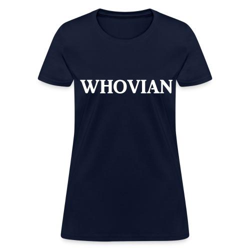 Whovian Woman's - Women's T-Shirt