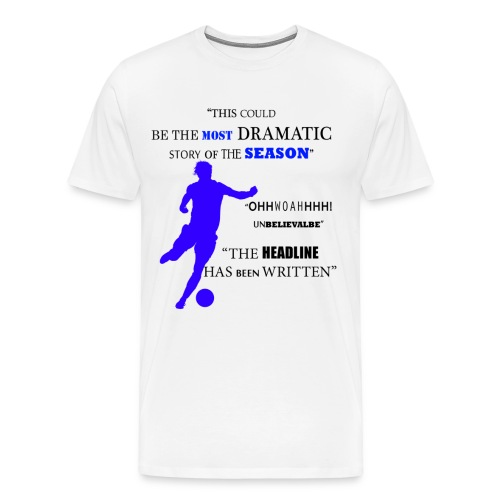 El Nino vs Barca - Mens T-Shirt - Men's Premium T-Shirt