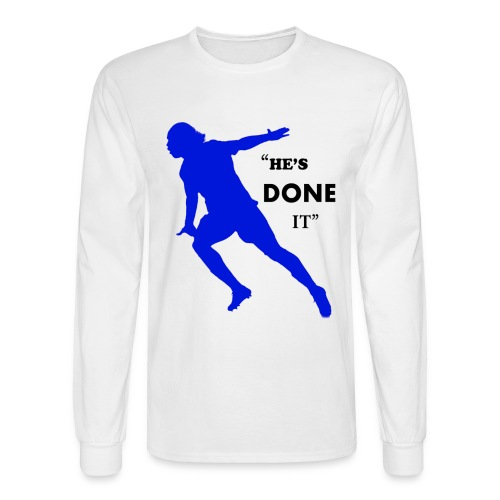 Drogba - He's Done It - Mens Long Sleeve T-Shirt - Men's Long Sleeve T-Shirt