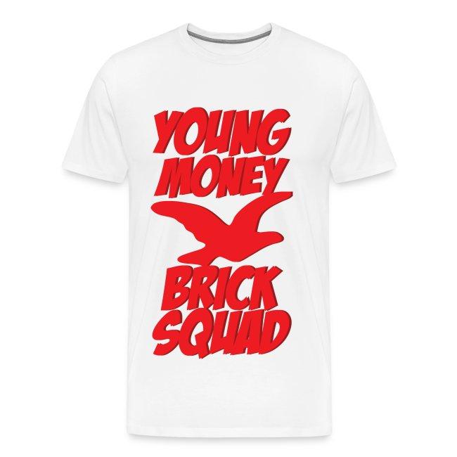 Dope Shirts Ever   Young Money Brick Squad Mens Tee-shirt - Mens ... 8148c544e9c5
