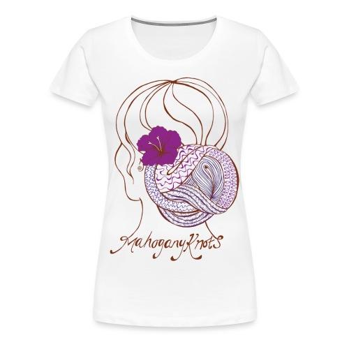 MahoganyKnots Logo Tee - Women's Premium T-Shirt