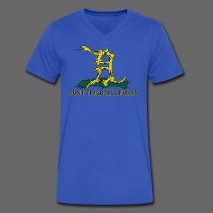 Dont Tread On Detroit - Men's V-Neck T-Shirt by Canvas