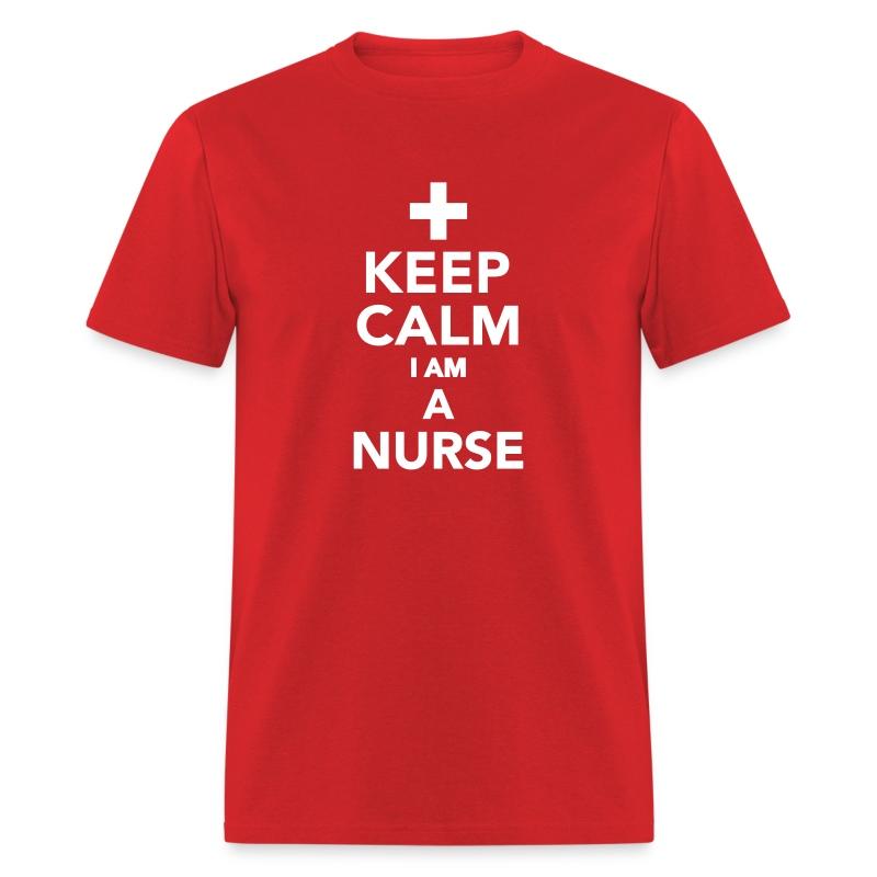 Keep calm i am a nurse t shirt spreadshirt for I am a nurse t shirt