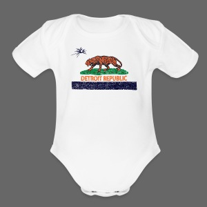 Detroit Republic - Short Sleeve Baby Bodysuit