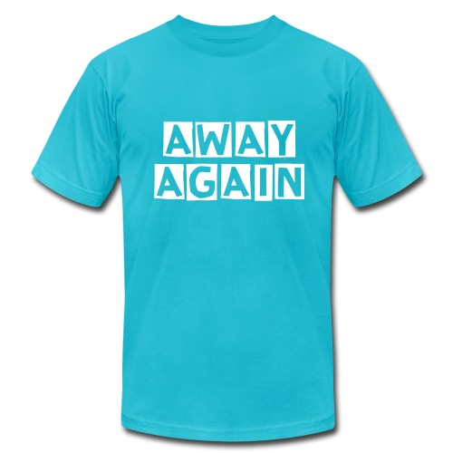 Away Again T-Shirt - Men's Fine Jersey T-Shirt