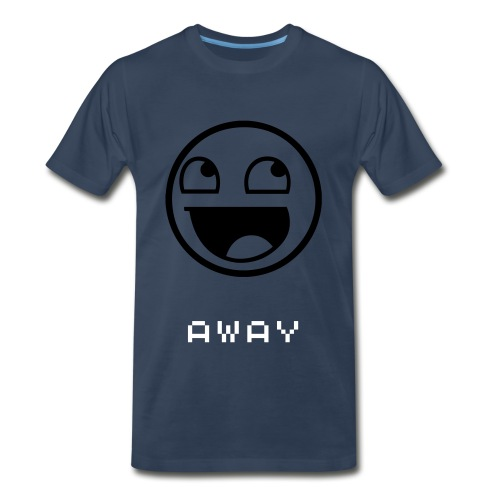 Away Troll Shirt - Men's Premium T-Shirt