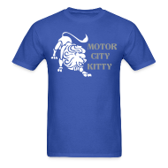 T-Shirts ~ Men's T-Shirt ~ Motor City Kitty