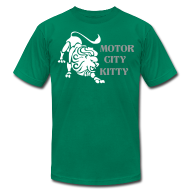 T-Shirts ~ Men's T-Shirt by American Apparel ~ Motor City Kitty