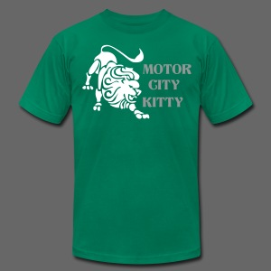 Motor City Kitty - Men's T-Shirt by American Apparel