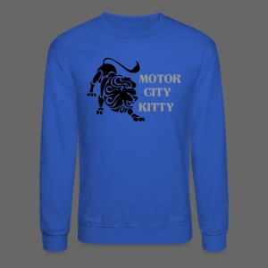 Motor City Kitty - Crewneck Sweatshirt