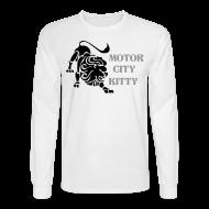 Long Sleeve Shirts ~ Men's Long Sleeve T-Shirt ~ Motor City Kitty