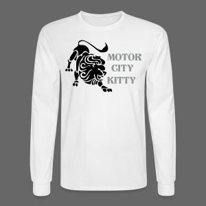 Motor City Kitty - Men's Long Sleeve T-Shirt