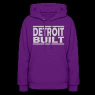 Hoodies ~ Women's Hooded Sweatshirt ~ Detroit Built