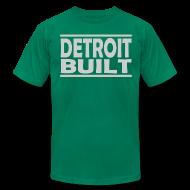 T-Shirts ~ Men's T-Shirt by American Apparel ~ Detroit Built