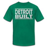 T-Shirts ~ Men's T-Shirt by American Apparel ~ Detroit Built