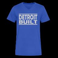 T-Shirts ~ Men's V-Neck T-Shirt by Canvas ~ Detroit Built