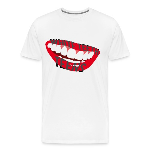 White Teeth Teens - Men's Premium T-Shirt