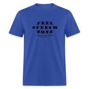 Free Speech Zone - Men's T-Shirt